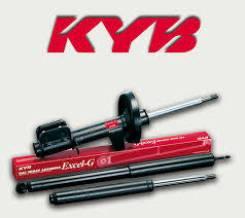 Амортизатор задний левый KYB B13/N14 (2WD) Without ABS 334048. Nissan Sunny, N14 Nissan 100NX, B13 Nissan Pulsar, EN14, HN14, FN14 Двигатели: GA16DE...