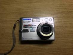 Pentax Optio E60. 6 - 6.9 Мп, зум: 3х