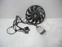 Вентилятор охлаждения радиатора. Audi A6, C5, 4B/C5 Audi A4 Двигатели: AJL, AEB, ANB, APU, ARK, AWL, AWT, AJM, AKE, BAU, BDH, AFB, AKN, AFN, AVG, ARS...