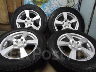 Продам Отличные Стильные колёса Grass CF+Зима Жир 225/65R17. 7.0x17 5x114.30 ET48