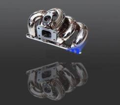 Коллектор выпускной. Honda Civic Honda Civic CRX Двигатели: D16A, D16W9, D16V1, D16B, D16B1, D16A9, D16Z2, D16A7, D16V2, D16Y4, D16Z6, D16Y2, D16Y8, D...
