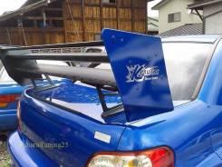 Спойлер. Subaru Impreza WRX STI, GDB