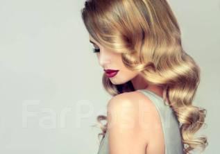 65% скидка на окрашивание, женскую и мужскую стрижку волос