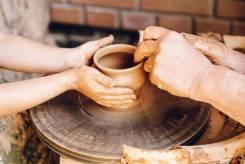 50% скидка на уроки по керамике и гончарному искусству для детей