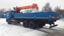 Камаз 65117. бортовой с кму Palfinger инман ит-150, 10 800 куб. см., 13 000 кг.