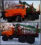 Урал 4320. Лесовозный тягач на шасси урал 4320, 14 860 куб. см., 12 000 кг.