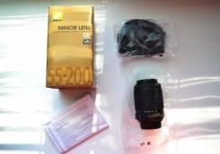 Продается объектив Nikkor LENS AF-S DX VR Zoom-Nikkor 55-200mm. Для Съемки, диаметр фильтра 55 мм