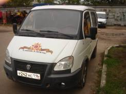 ГАЗ 2217 Баргузин. Микроавтобус ГАЗ Соболь 2217, 2012, 2 890 куб. см., 7 мест
