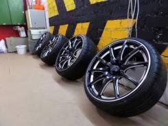 Колеса из Японии Fabulous R20+резина 235/30/20 Hankook. 8.5x20 5x112.00, 5x114.30 ET38 ЦО 73,1мм.