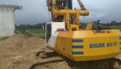 Bauer BG-26. Буровая установка Bauer BG26, 2016 гв