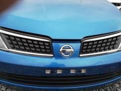 Решетка радиатора. Nissan Tiida, NC11 Двигатель HR15DE