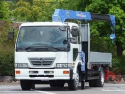 Nissan Diesel Condor. Nissan Condor борт 8 тонн, кран 3т., 4 вылета, спальник, 5.5 метров., 6 900куб. см., 3 000кг., 4x2. Под заказ