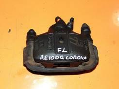 Суппорт тормозной. Toyota Corolla, AE100G Двигатель 5AFE