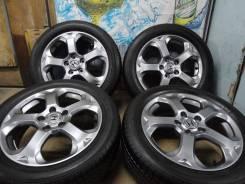 Продам Отличные Стильные колёса Honda Stream+Лето Жир 205/55R17. 6.0x17 5x114.30 ET55