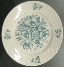 Мелкая тарелка. Фарфор Дулево 1954 год. Эпоха периода СССР. Оригинал. Под заказ