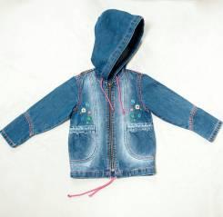 Куртки джинсовые. Рост: 92-98 см