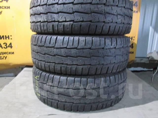 Michelin. Зимние, шипованные, 2016 год, износ: 10%, 4 шт