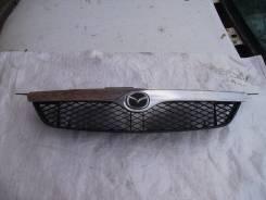 Решетка радиатора. Mazda 323 Mazda 323F Mazda Familia S-Wagon, BJ8W, BJ5W, BJFW Mazda Familia, BJ8W, BJ3P, BJ5P, BJFW, BJ5W, BJFP, BJEP