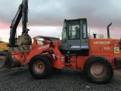 Hitachi LX110. Фронтальный погрузчик -7, 6 500 куб. см., 3 000 кг.