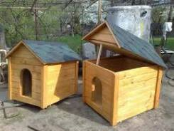 Изготовляем будки для собак.