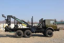 Камаз 4310. Продается а/м КамАЗ 4310 с гидроманипулятором в Кавалеровском районе, 11 000 куб. см., 8 000 кг.