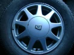Диски от Toyota Cresta, с резиной Cordiant Polar, размером 205/70/R15. 6.0x15 5x114.30 ET50