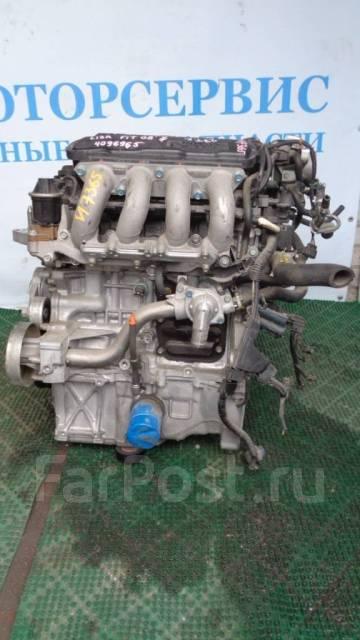 Двигатель в сборе. Honda Fit, GE8 Двигатель L13A