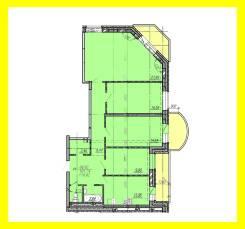 Продам 4х комнатную квартиру(помещение)под магазин, част. сад, и т. д. Улица Александра Зеленского 34, р-н Междуречье, 116 кв.м. План помещения