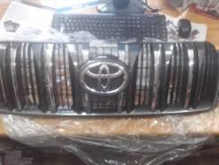 Решетка радиатора. Toyota Land Cruiser Prado, GRJ150W, GRJ150L, GRJ150 Двигатель 1GRFE