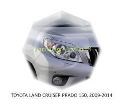 Накладка на фару. Toyota Land Cruiser Prado, TRJ150W, TRJ12, KDJ150L, GRJ151W, GRJ150L, GRJ150W Двигатели: 2TRFE, 1KDFTV, 1GRFE