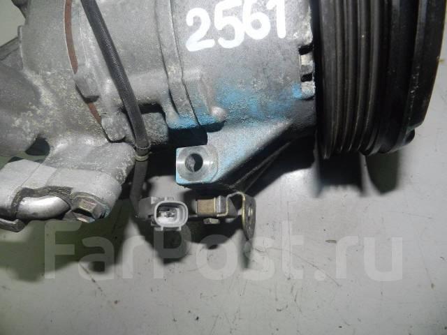 Компрессор кондиционера. Toyota Sienta, NCP85, NCP85G Двигатель 1NZFE