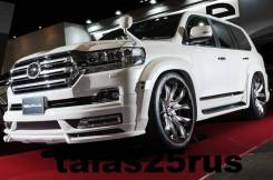 Обвес кузова аэродинамический. Toyota Land Cruiser, URJ200, UZJ200W, VDJ200, J200, URJ202W, URJ202, UZJ200 Subaru Bistro