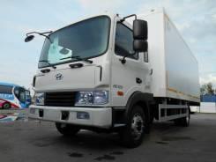 Hyundai HD120. HD-120 + фургон сэндвич (6,5х2,6х2,18) АМЗ, 6 600 куб. см., 7 000 кг.