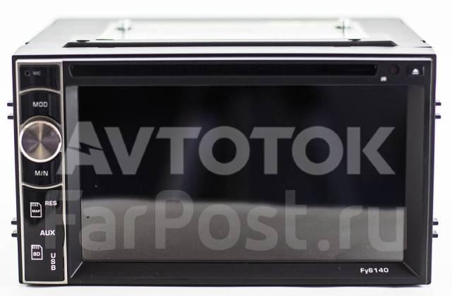 Универсальная 2DIN (178x100) магнитола Android 6.0 FY6140