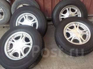 Продам колёса Lodio Drive Lodio Terano /SURF/Prado/Pajero/Tacoma/FJ. 8.0x17 6x139.70 ET18 ЦО 110,0мм.