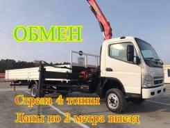 Mitsubishi Canter. Самогруз Mitsubishi Fuso Canter, 2013 г. в., 5 000 кг., 12 м.