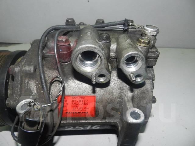 Компрессор кондиционера. Mitsubishi Debonair, S22A Mitsubishi Galant, E52A, E53A, E54A, E64A, E72A, E74A, E84A Mitsubishi Emeraude, E52A, E53A, E54A...