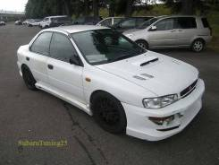 Порог пластиковый. Subaru Impreza WRX STI, GF8, GC8