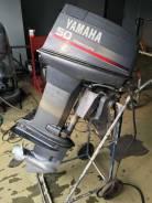 Yamaha. 50,00л.с., 2-тактный, бензиновый, нога L (508 мм), Год: 1996 год