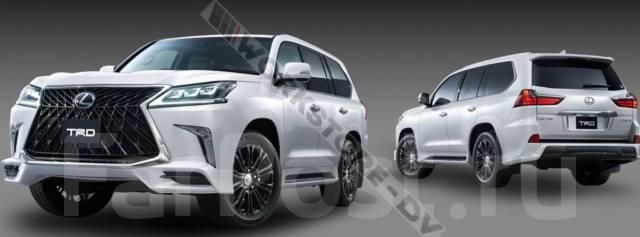 Обвес кузова аэродинамический. Lexus LX450d, URJ200, URJ201 Lexus LX570, SUV, URJ201, URJ201W Двигатели: 1VDFTV, 3URFE. Под заказ