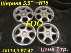 EDO. 5.5x15, 5x114.30, ET47