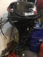 Suzuki. 30,00л.с., 2-тактный, бензиновый, нога S (381 мм), Год: 2008 год