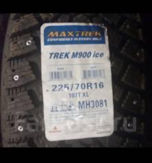 Maxtrek Trek M900. Зимние, шипованные, 2016 год, без износа, 4 шт