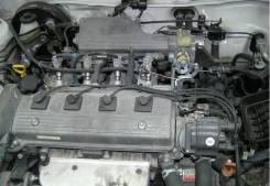 Двигатель в сборе. Toyota Caldina, AT191G