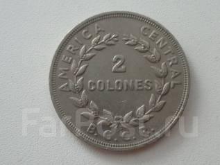 Коста-Рика 2 колон 1978 г. Экзотика.