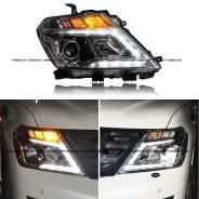 Фары комплект Nissan Patrol y62 (ходовые огни). Nissan Patrol, Y62