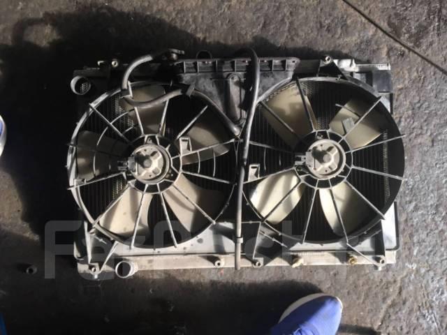Радиатор охлаждения двигателя. Toyota Altezza Двигатель 3SGE