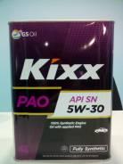 Kixx PAO. Вязкость 5W-30, синтетическое