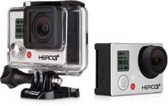 GoPro HD HERO3. 20 и более Мп, с объективом