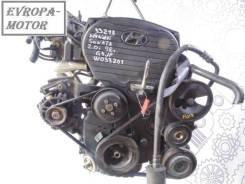 Двигатель (ДВС)(G4JP) на Hyundai Sonata IV 1999г.